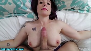 PornFilms Horny mom shows lascive sex drives her sons cock
