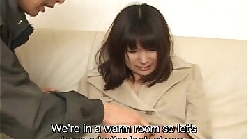 Captivating Japanese and pretty chick are all-in enjoying passionate sex