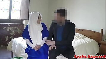 Arab cock Trade Twins for the bleachers