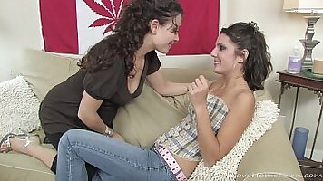 babe gets her a drilling with huge toys