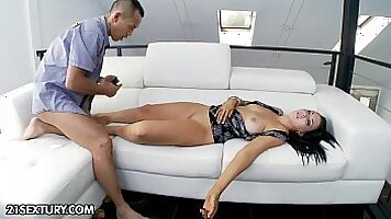 Porn agent using his drink