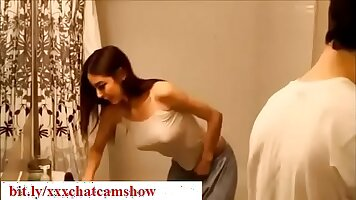 Maria Yokoude in Bedroom Brother Seduce Sister To See Him