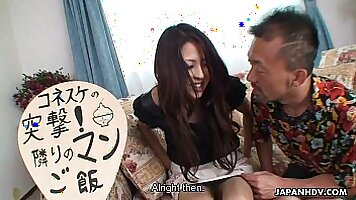 Japan milf picked up and fucked quick