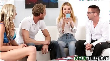 Alina West - Step Sister Orgy